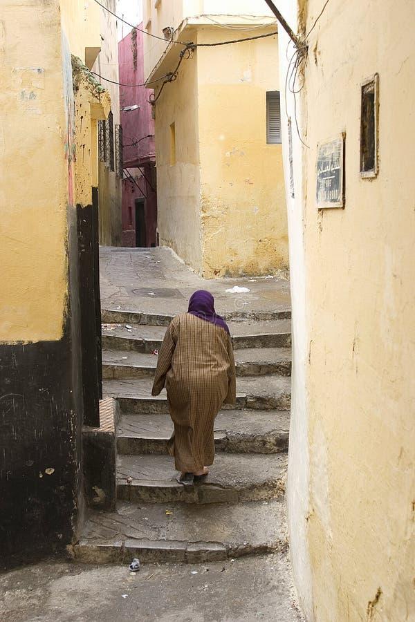 Marokkanische Straße 1 lizenzfreie stockbilder