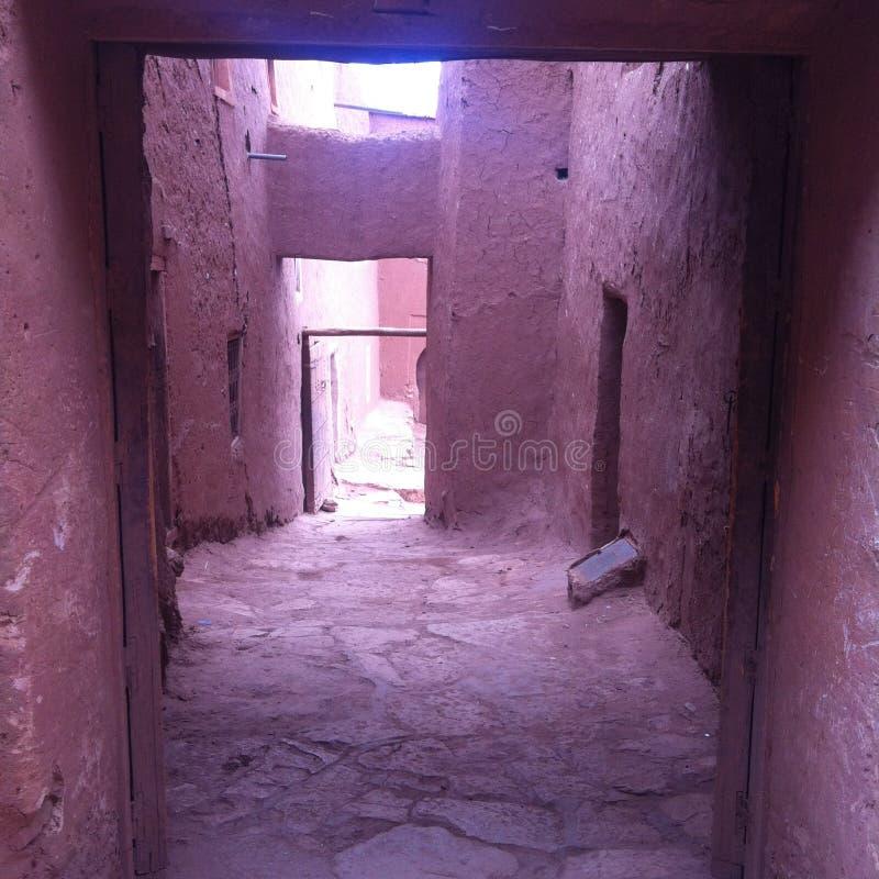 Marokkanische Straße lizenzfreie stockfotografie