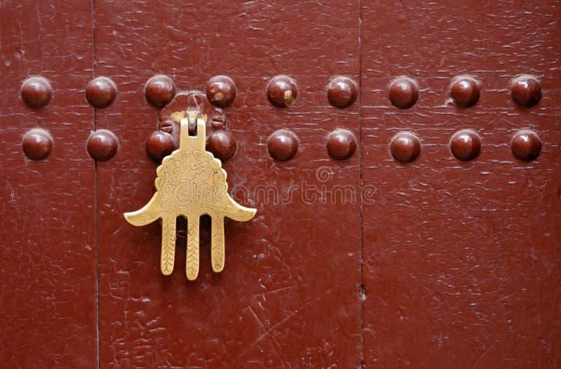 Marokkanische Tür lizenzfreie stockfotos