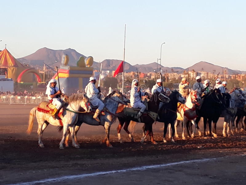 Marokkanische Tradition stockfotografie