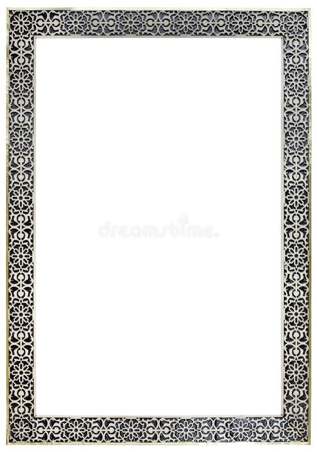 Marokkanischer Zinn-Spiegel-Rahmen Stockbild - Bild von spiegel ...