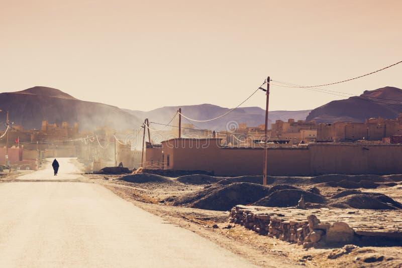 Marokkanisches Berberdorf stockfotografie