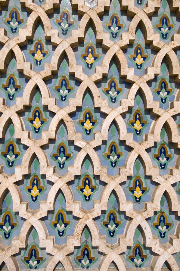 Marokkanisches Mosaik lizenzfreie stockfotos