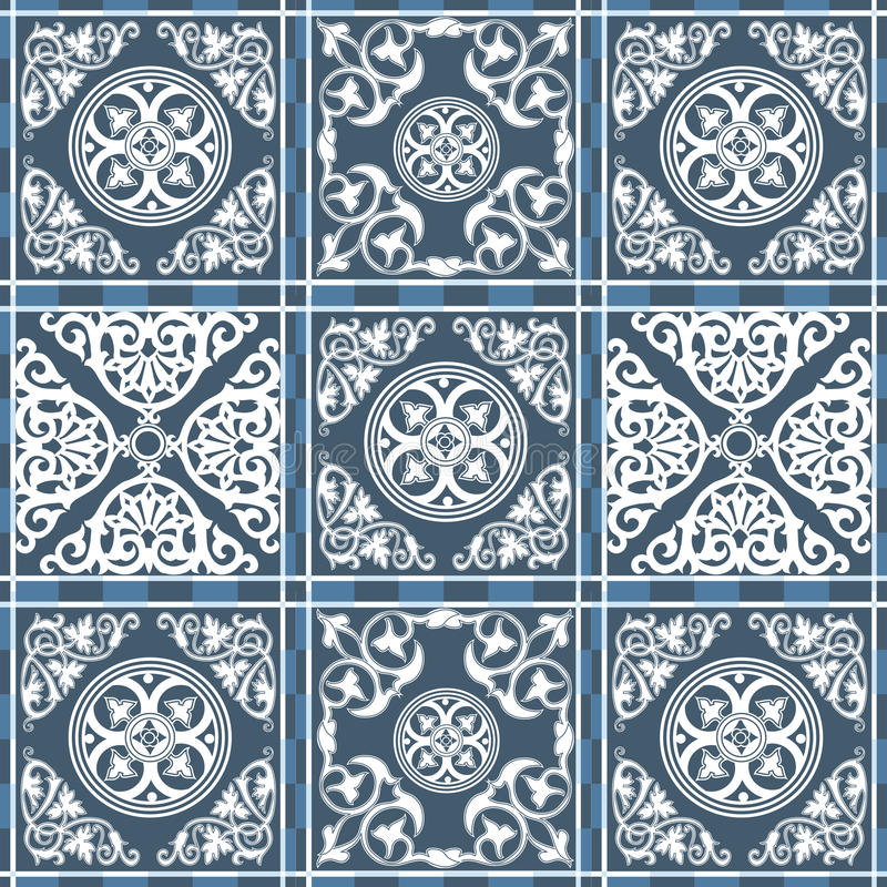 Marokkanisches Muster 10 lizenzfreie abbildung