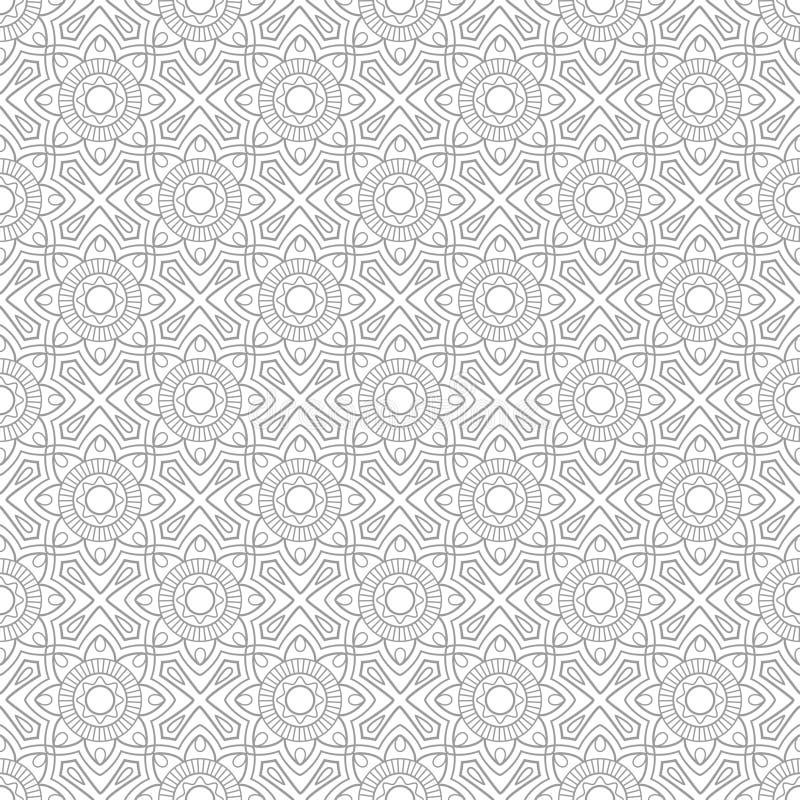 Marokkanisches oder arabisches Muster vektor abbildung