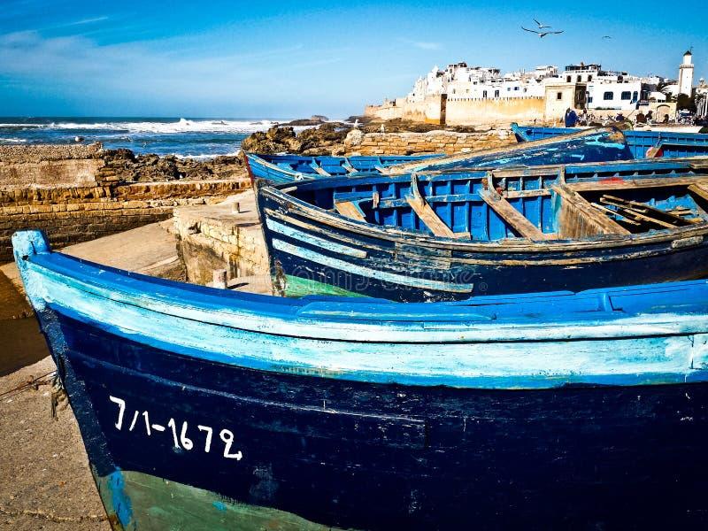 Marokko, Essaouira stockbild