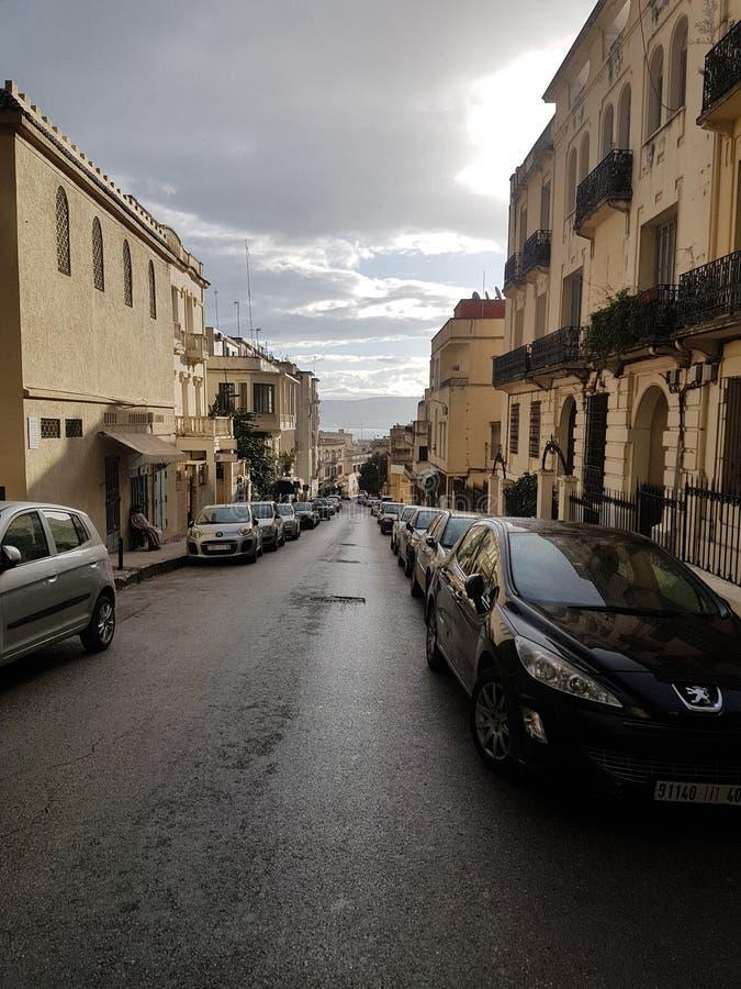 Marokko heeft een mening van Spanje royalty-vrije stock foto