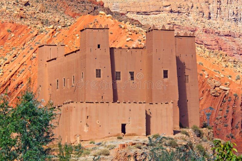 Marokko, Kasbah stockfotos