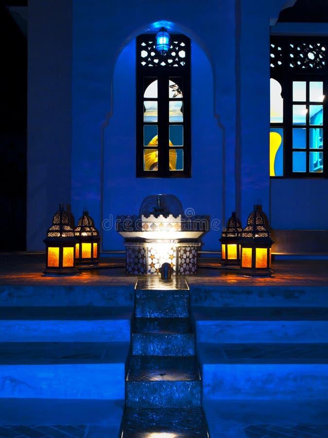 Marokko-Leuchte stockbilder