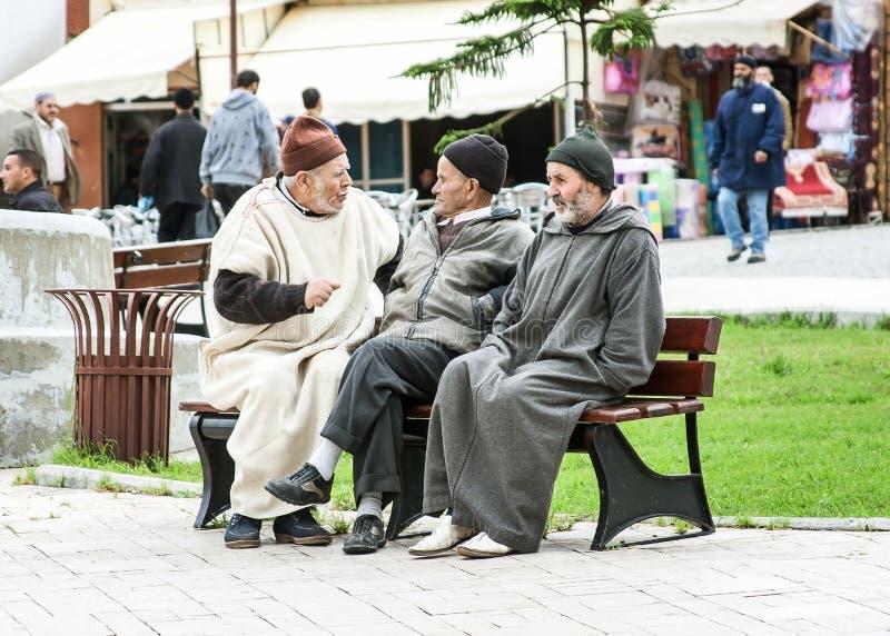 Marokko-Leute lizenzfreies stockbild