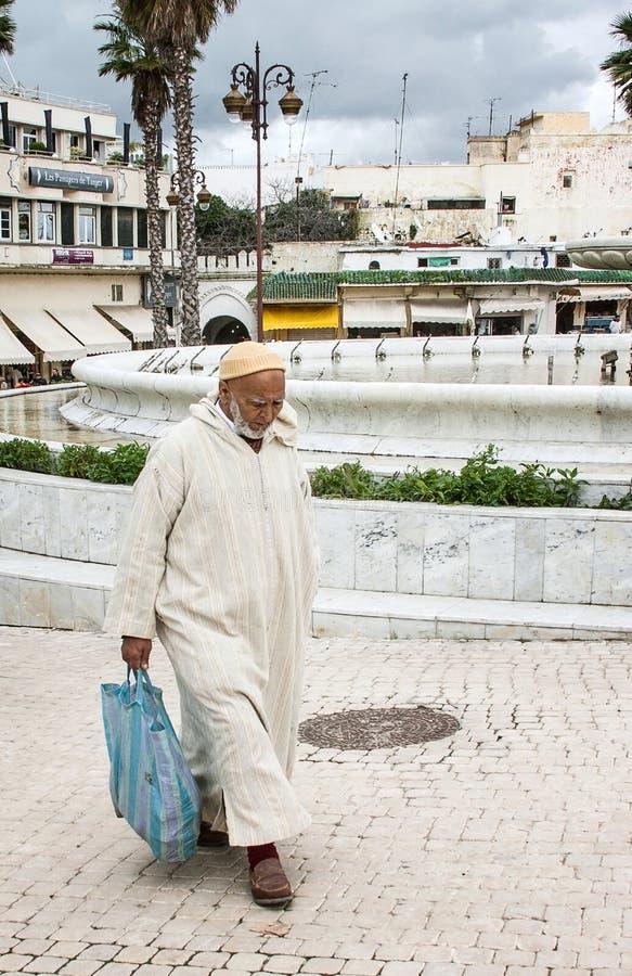 Marokko-Leute lizenzfreie stockbilder