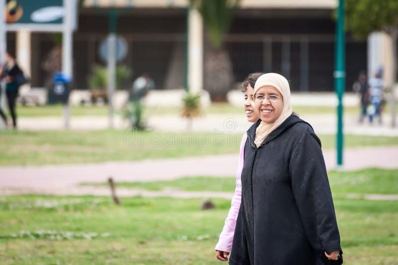 Marokko-Leute stockfoto