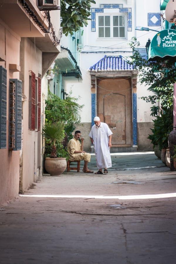Marokko-Leute stockbild