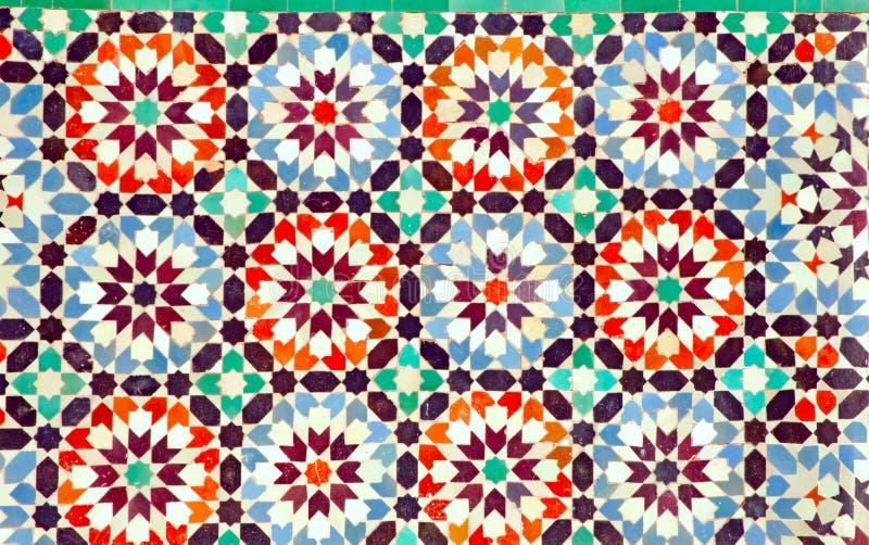Marokko, Marrakesch: Ben Youssef madrasa stockfotos