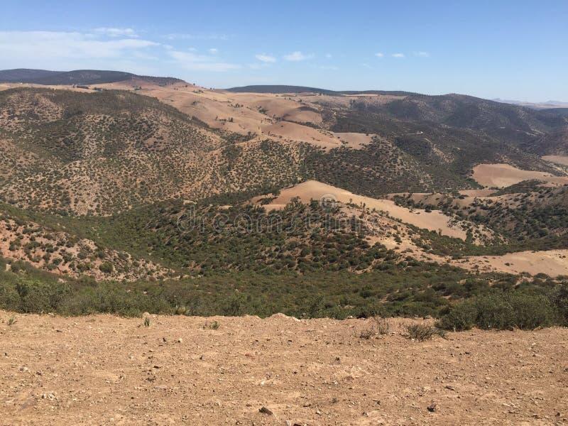Marokko-Natur stockfotografie