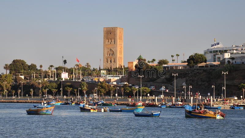 Marokko, Verkauf lizenzfreies stockfoto