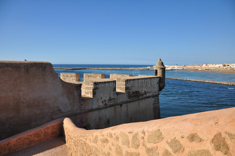 Marokko, vierkant Rabat stock afbeeldingen