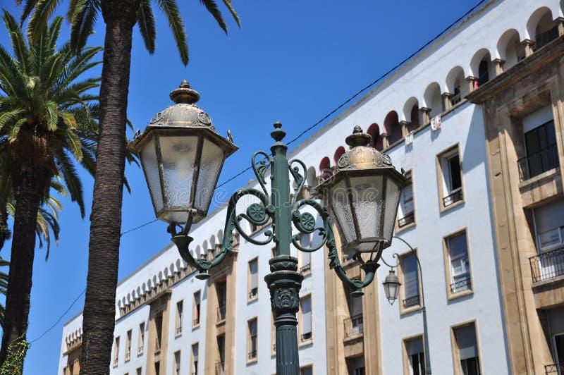 Marokko, vierkant Rabat royalty-vrije stock afbeelding