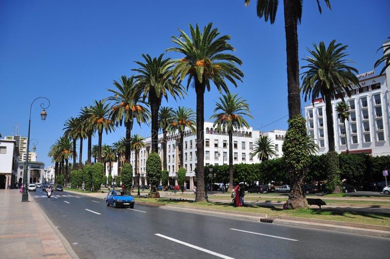 Marokko, vierkant Rabat royalty-vrije stock foto's