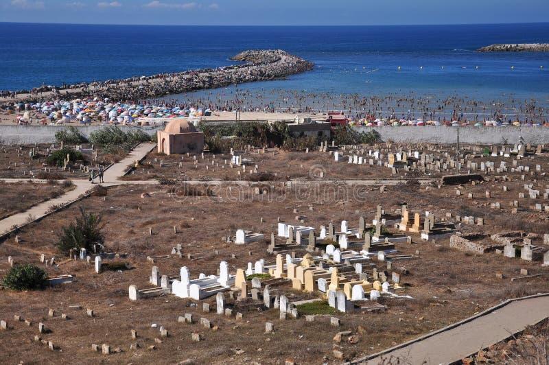 Marokko, vierkant Rabat stock afbeelding