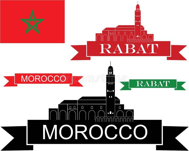 Maroko ilustracja wektor