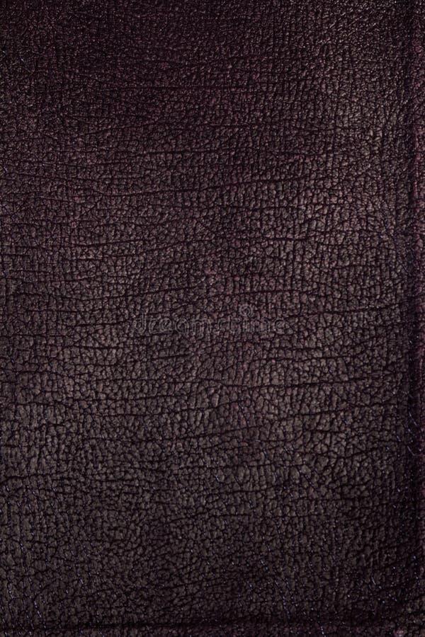 Maroon текстурировал кожаную обложку книги стоковое фото