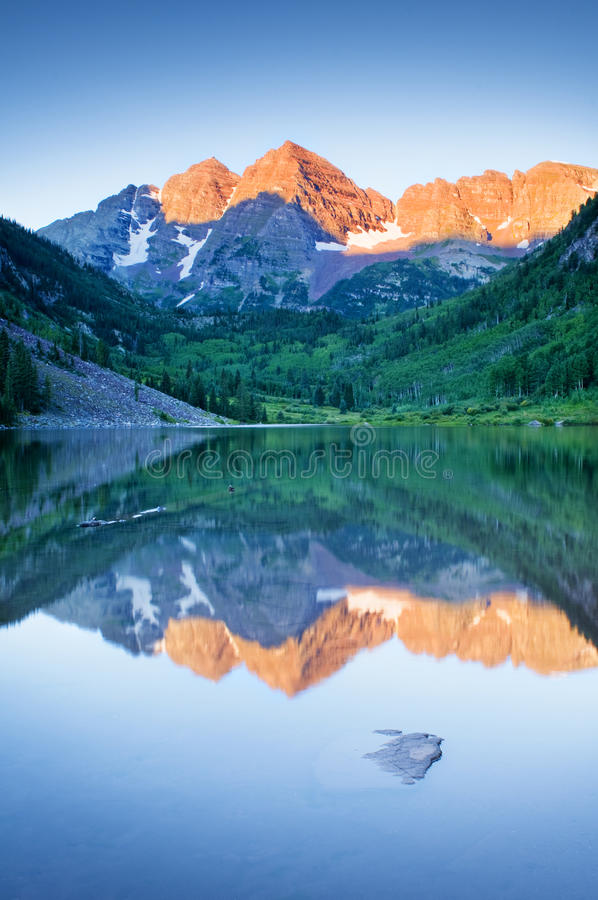 Maroon Bells royalty free stock photos