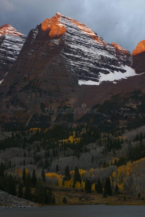 Maroon Bells, Colorado royalty free stock photography