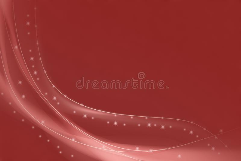 Maroon and burgundy digital abstract creative background from curved lines vector illustration