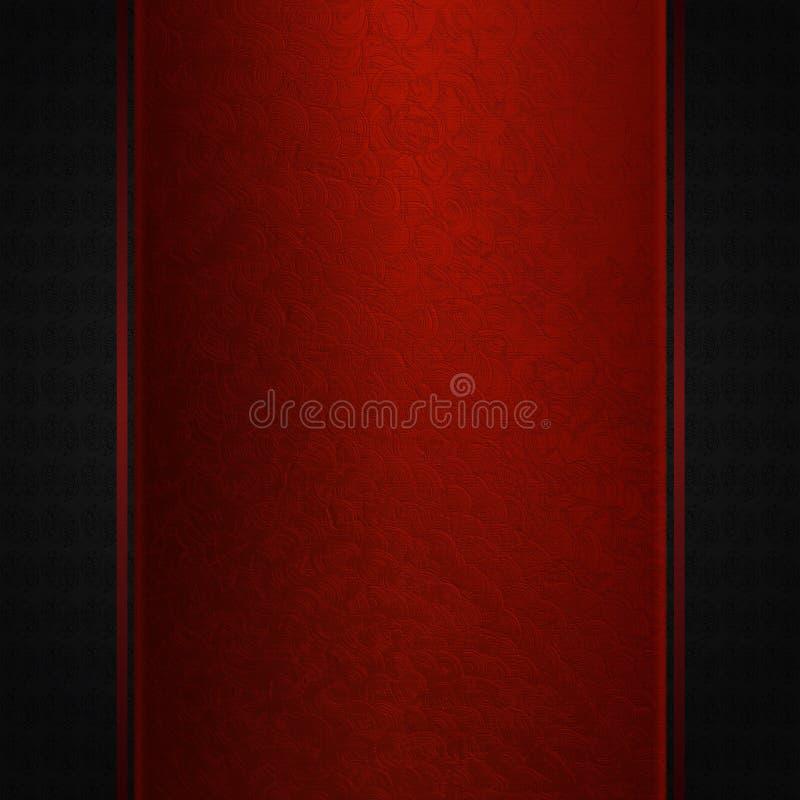 Download Maroon Lace On Dark Background Stock Illustration - Image: 29216515