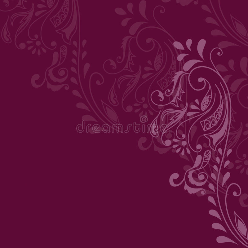Download Maroon Pattern stock illustration. Image of repeat, intricate - 13128230