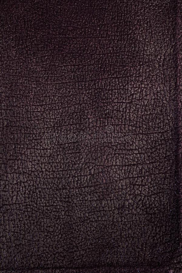 Maroon Textured Leather book cover stock photo
