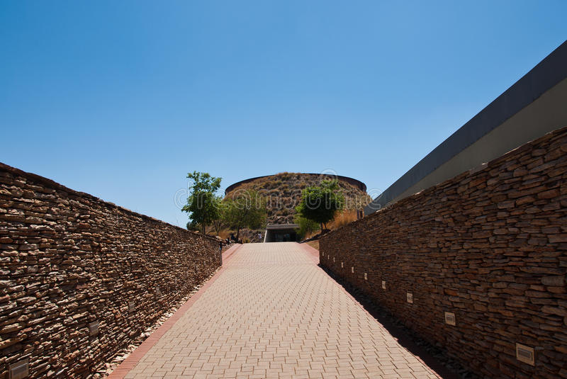 Maropeng Visitor Centre royalty free stock photography