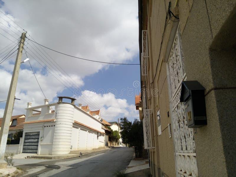 marouani da casa de campo do setif de Argélia fotos de stock