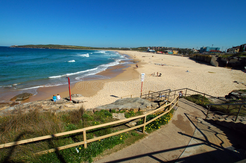 Download Maroubra beach stock image. Image of vacation, travel - 4867791