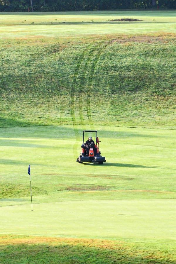 Marque al club de golf del ` s en el kinna Suecia fotografía de archivo libre de regalías