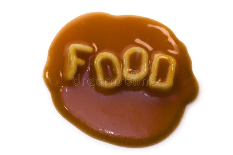 marque avec des lettres des spaghetti de pâtes photos stock