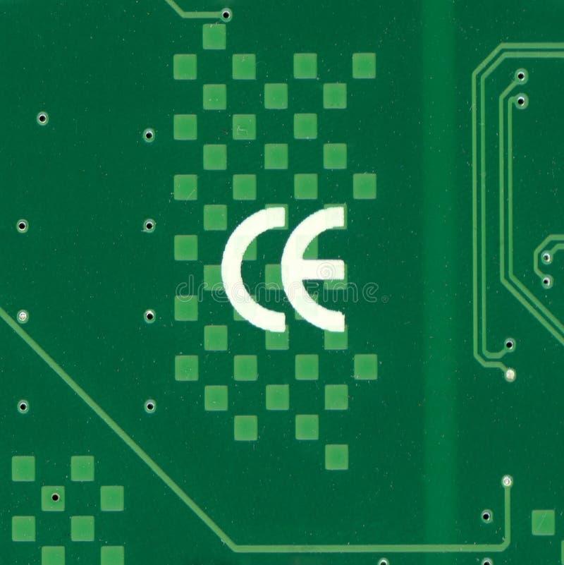 Marque d'exportation de la Chine de la CE photographie stock libre de droits