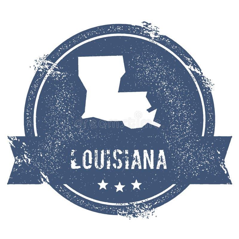 Marque de la Louisiane illustration de vecteur