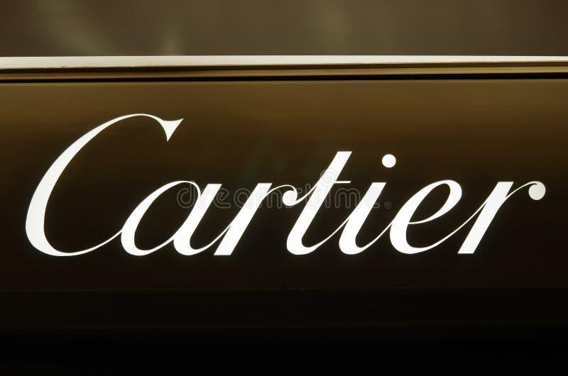 Marque de luxe de Cartier photos stock