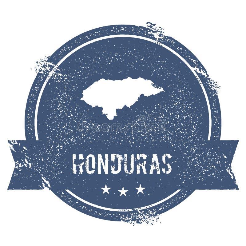 Marque du Honduras illustration stock