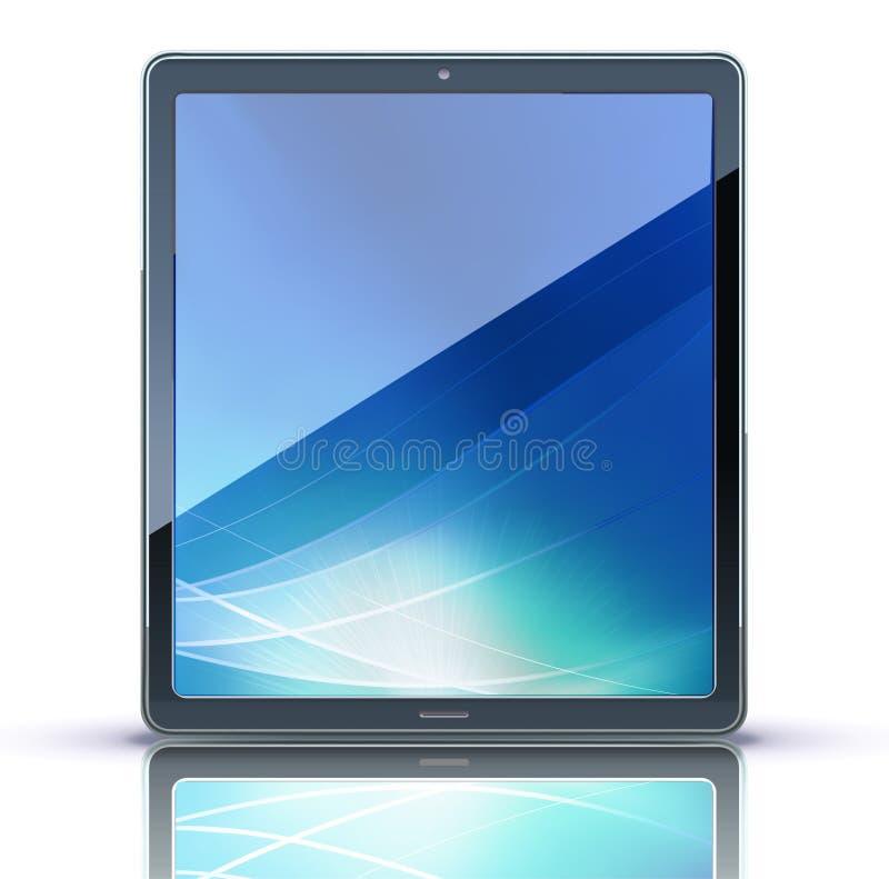 Download Marque en la tableta la PC ilustración del vector. Imagen de nota - 20323521