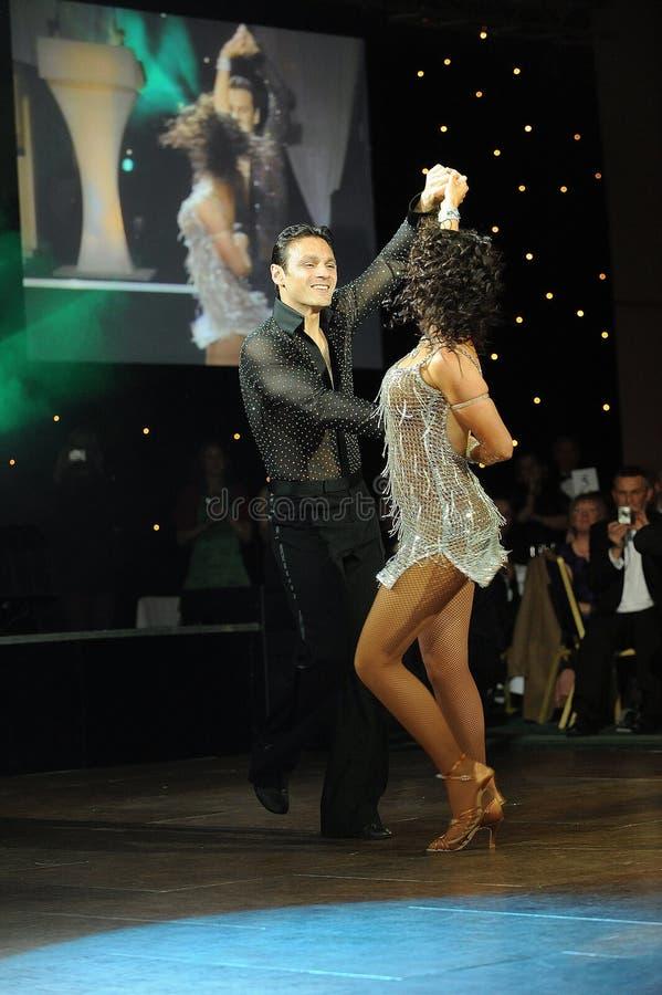 Marque Ramprakash e Karen résistentes fotografia de stock royalty free