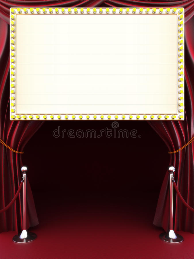 Free Marquee With Curtains Stock Photo - 39371830