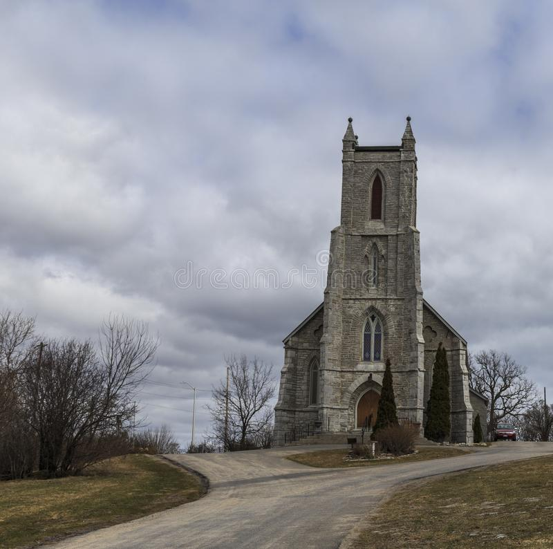 Marques Barriefield Kingston Ontario Canada de St image libre de droits