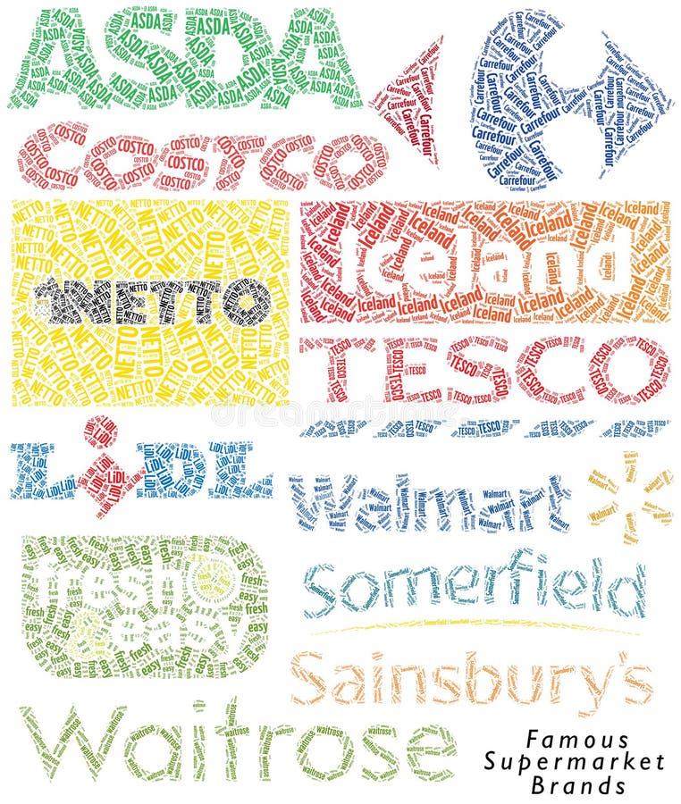 Marques célèbres de supermarché