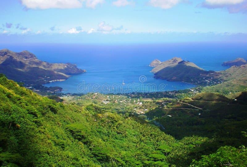 Marquesas Ansicht lizenzfreies stockfoto