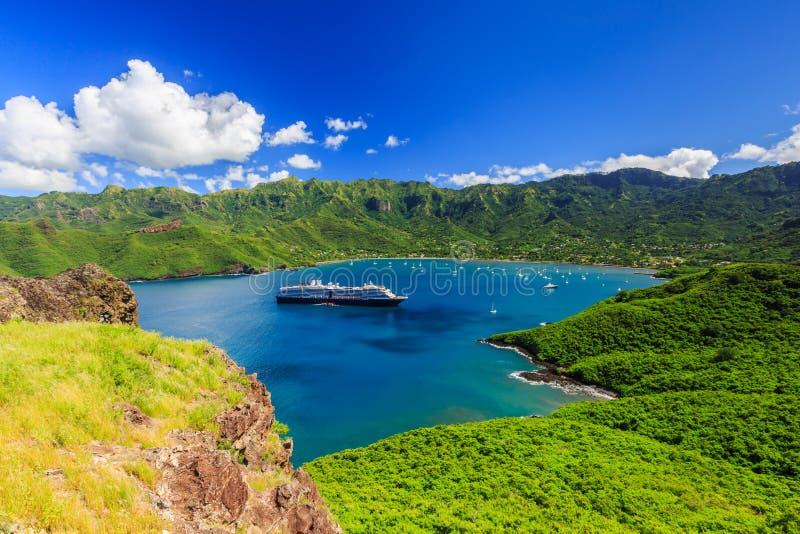 Marquesas-Inseln, Französisch-Polynesien stockfotos