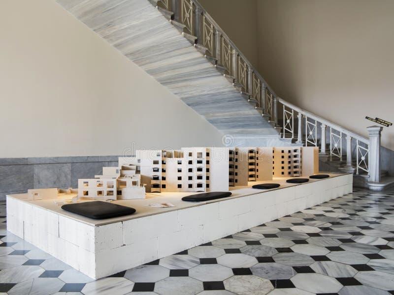 Marquette arquitectónico fotos de archivo libres de regalías