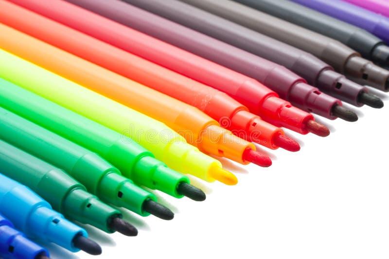 Marqueurs de couleur photographie stock